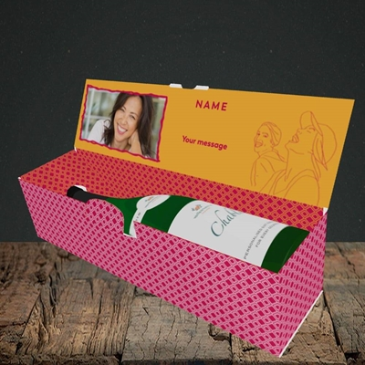 Picture of Not Saying You're Old, Birthday Design, Lay-down Bottle Box