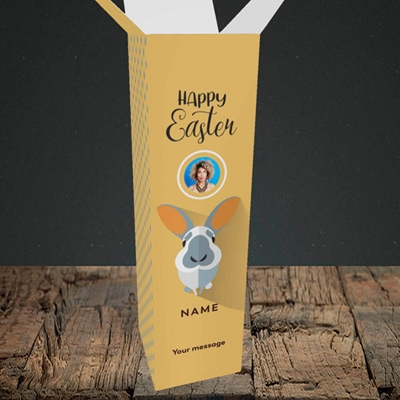 Picture of Pick Me Up Bunny, Easter Design, Upright Bottle Box