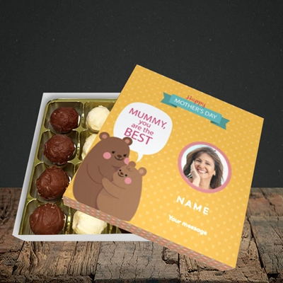 Picture of Mummy You Are The Best Bear, Mother's Day Design, Choc 16