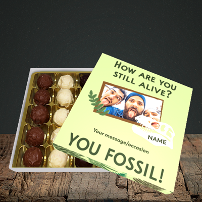 Picture of Fossil, Birthday Design, Choc 25