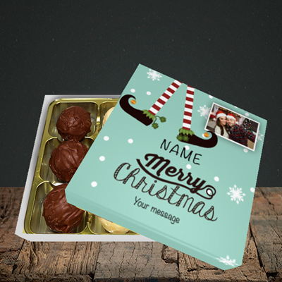 Picture of Elf, Christmas Design, Choc 9