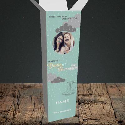 Picture of Puddles, Thinking of You Design, Upright Bottle Box