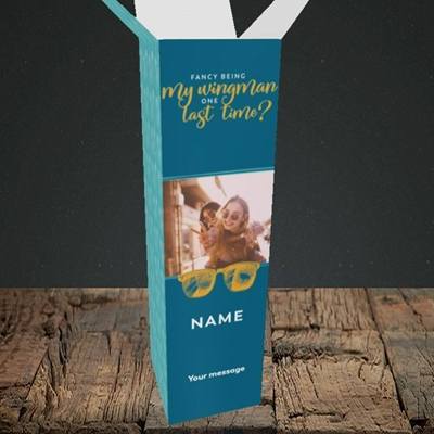 Picture of Wingman, Wedding Design, Upright Bottle Box