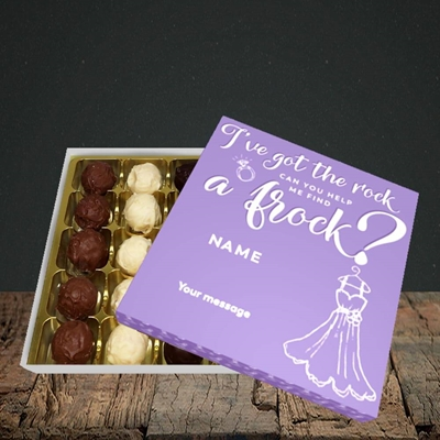 Picture of Got The Rock(Without Photo), Wedding Design, Choc 25