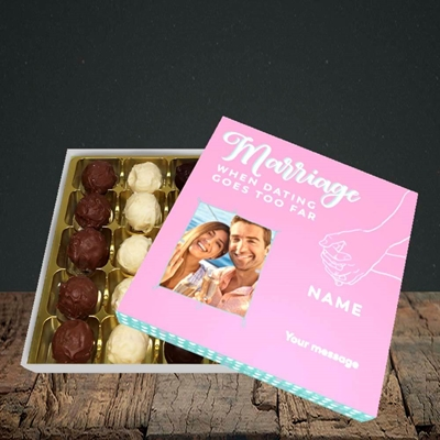 Picture of Dating Goes Too Far, Wedding Design, Choc 25