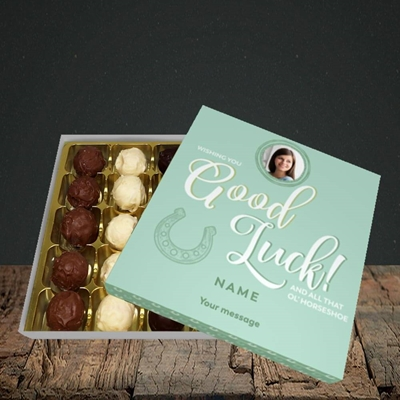 Picture of Horseshoe, Good Luck Design, Choc 25