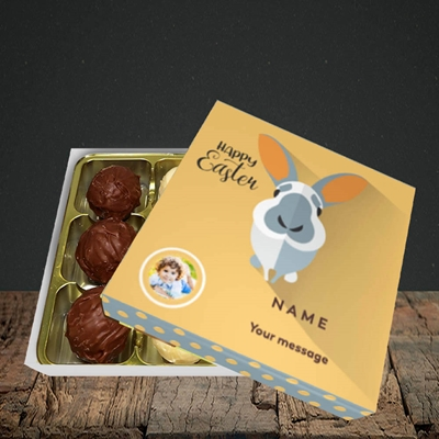 Picture of Pick Me Up Bunny, Easter Design, Choc 9