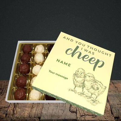 Picture of Cheep, (Without Photo) Easter Design, Choc 25