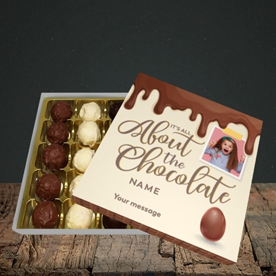 Picture of All About The Chocolate, Easter Design, Choc 25