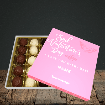 Picture of Sod Valentine's Day, (Without Photo) Valentine Design, Choc 25