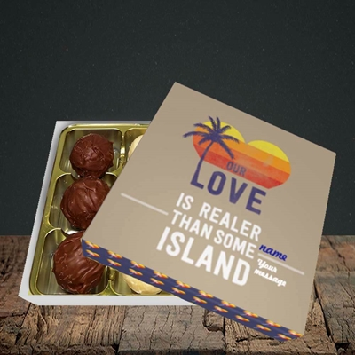 Picture of Our Love Is Realer(Without Photo), Valentine's Design, Choc 9