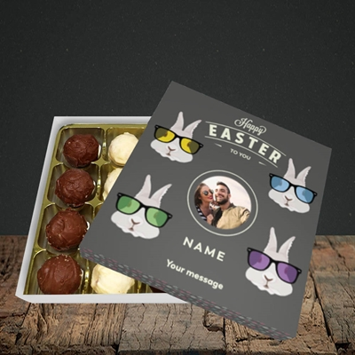 Picture of Hipster Bunnies, Easter Design, Choc 16