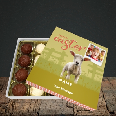 Picture of Lamb To See You, Easter Design, Choc 16