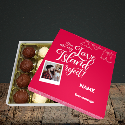 Picture of Love Island Reject, Valentine Design, Choc 16