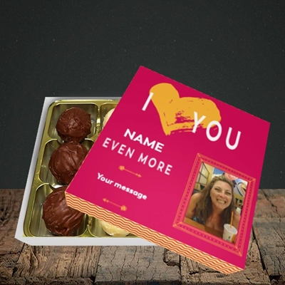 Picture of Love You Even More, Anniversary Design, Choc 9