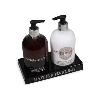 Picture of Baylis & Harding Mens Black Pepper & Ginseng Hand Wash/Lotion