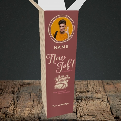 Picture of Pay Me Back, New Job Design, Upright Bottle Box