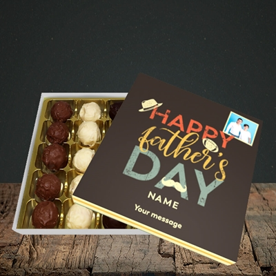 Picture of Retro, Father's Day Design, Choc 25