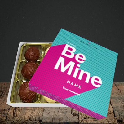 Picture of Always be Mine (type) (Without Photo), Valentine Design, Choc 9