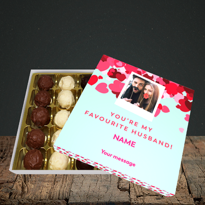 Picture of Favourite Husband, Valentine Design, Choc 25