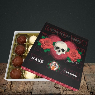 Picture of Love You To Death, Valentine Design, Choc 16