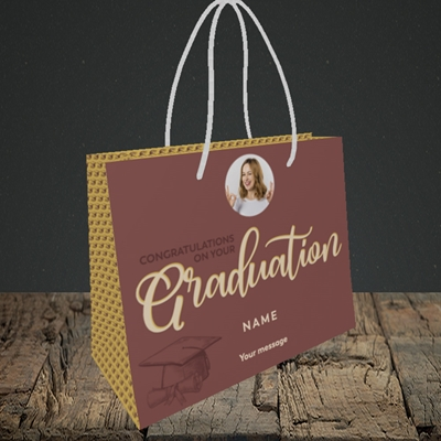 Picture of Your Graduation, Graduation Design, Small Landscape Gift Bag