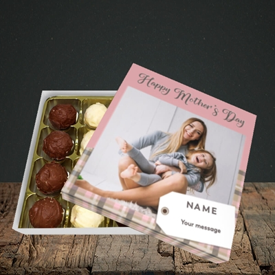 Picture of 1. Large Photo(Chequer), Mother's Day Design, Choc 16