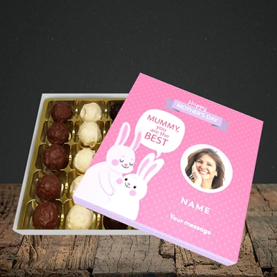 Picture of Mummy You Are The Best Bunny, Mother's Day Design, Choc 25