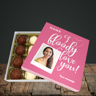 Picture of I Bloody Love You, Valentine's Design, Choc 16