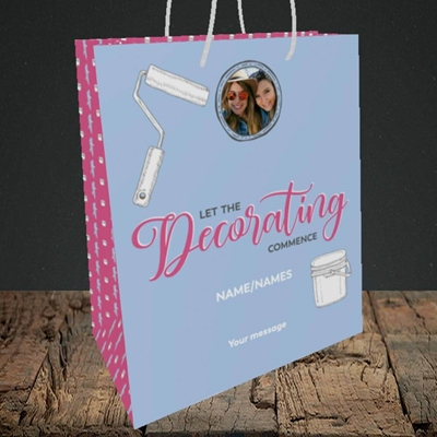 Picture of Decorating, New Home Design, Medium Portrait Gift Bag